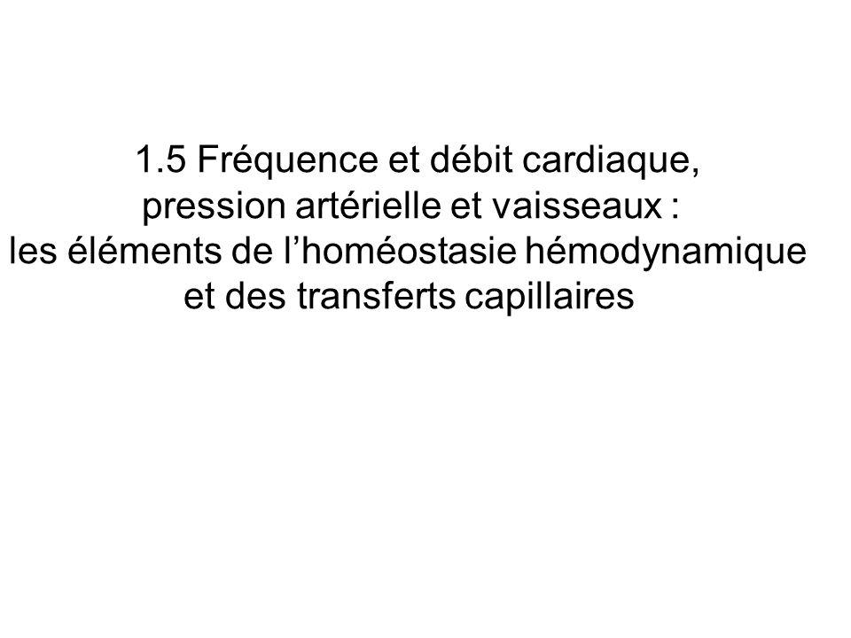 pression artérielle et vaisseaux :