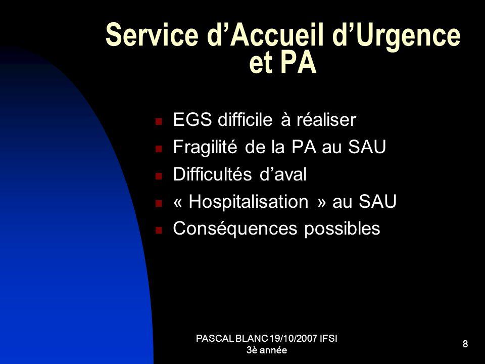 Service d'Accueil d'Urgence et PA