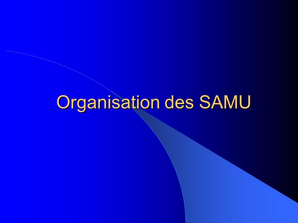 Organisation des SAMU