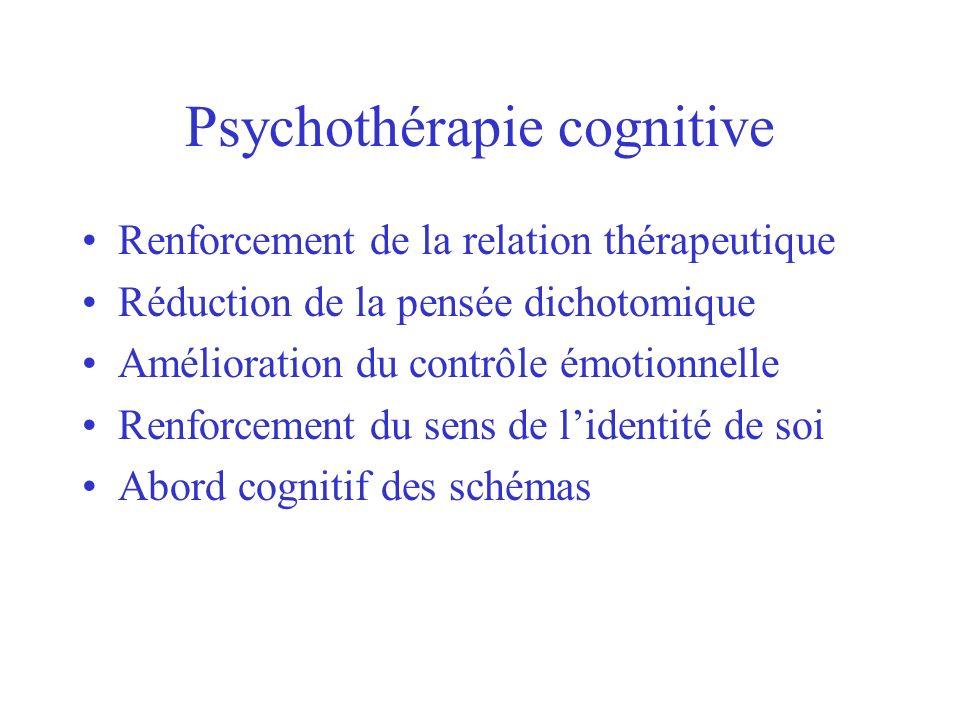 Psychothérapie cognitive
