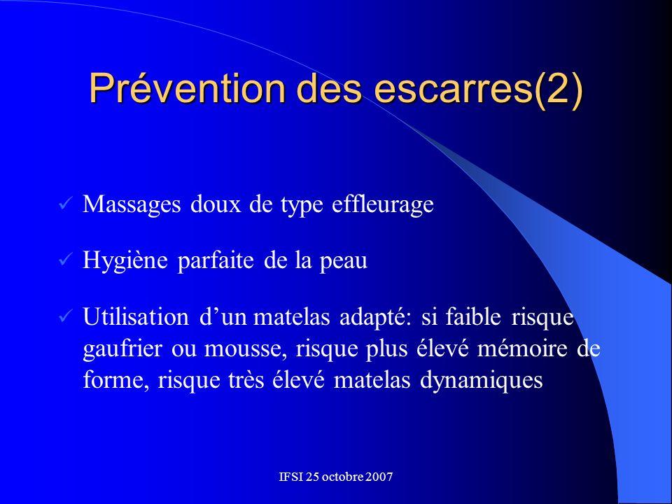 Prévention des escarres(2)