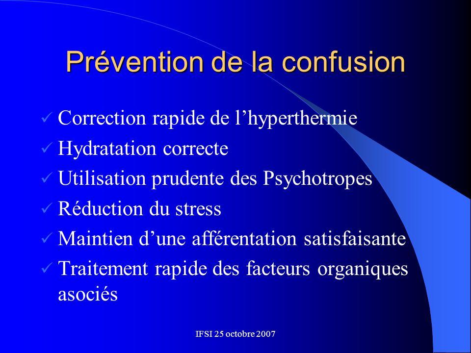 Prévention de la confusion