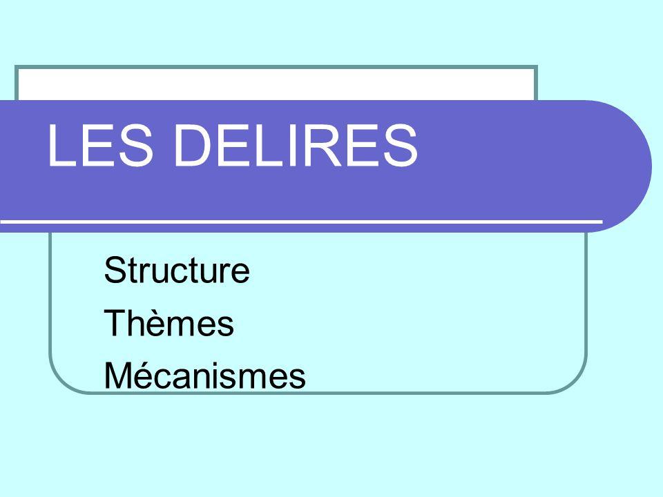 Structure Thèmes Mécanismes