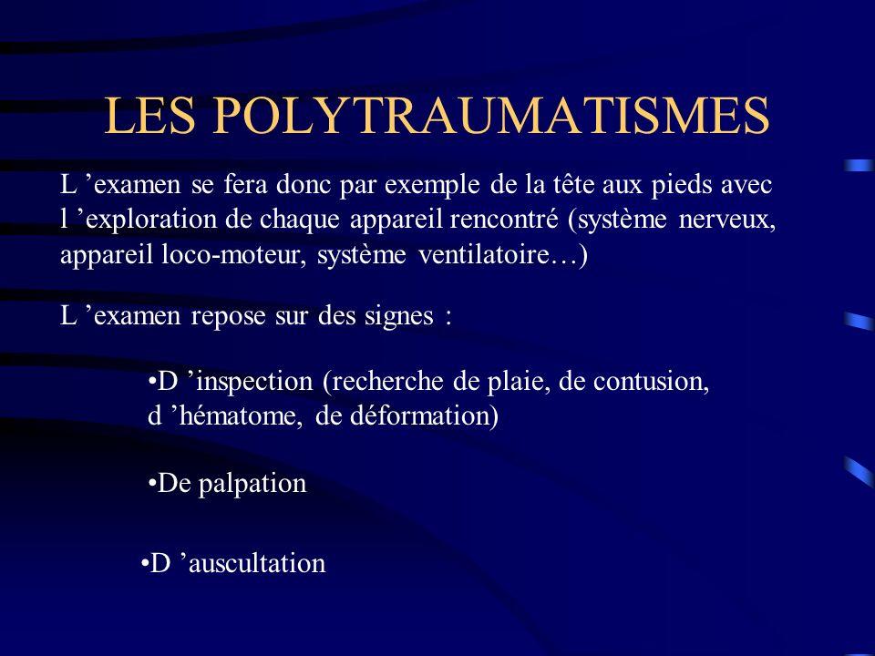 LES POLYTRAUMATISMES
