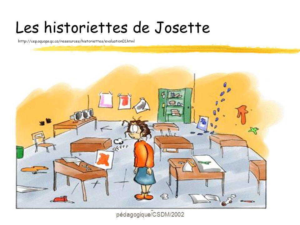 Les historiettes de Josette