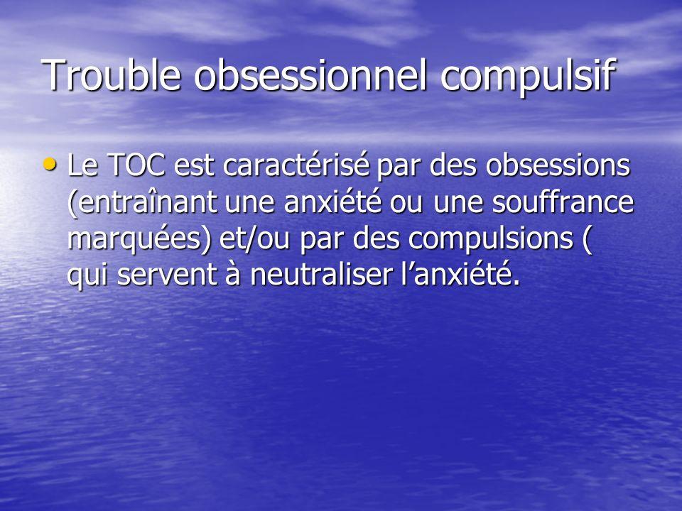 Trouble obsessionnel compulsif
