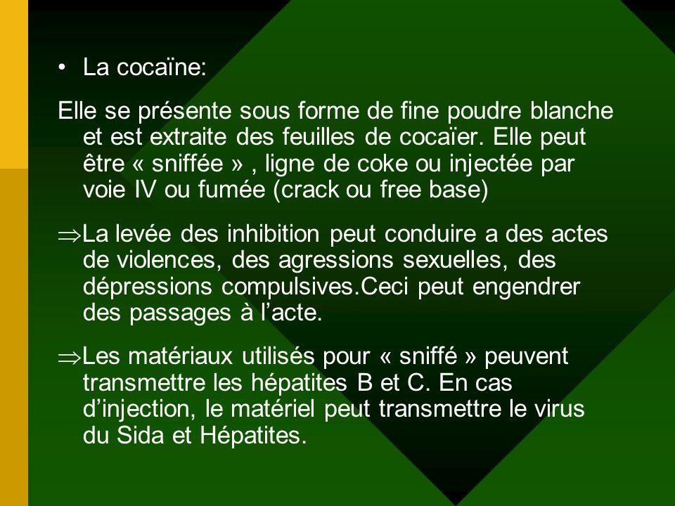 La cocaïne: