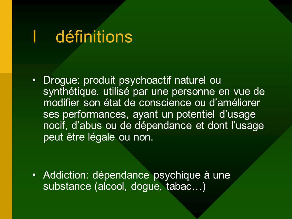 I définitions