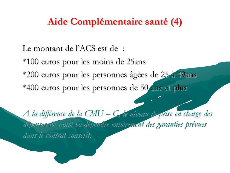 Aide Complémentaire santé (4)