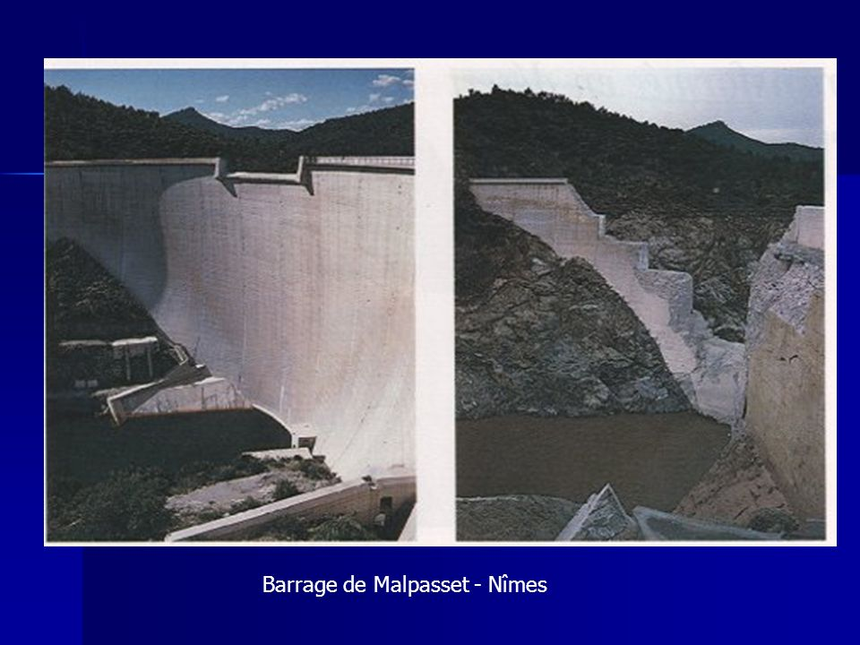 Barrage de Malpasset - Nîmes