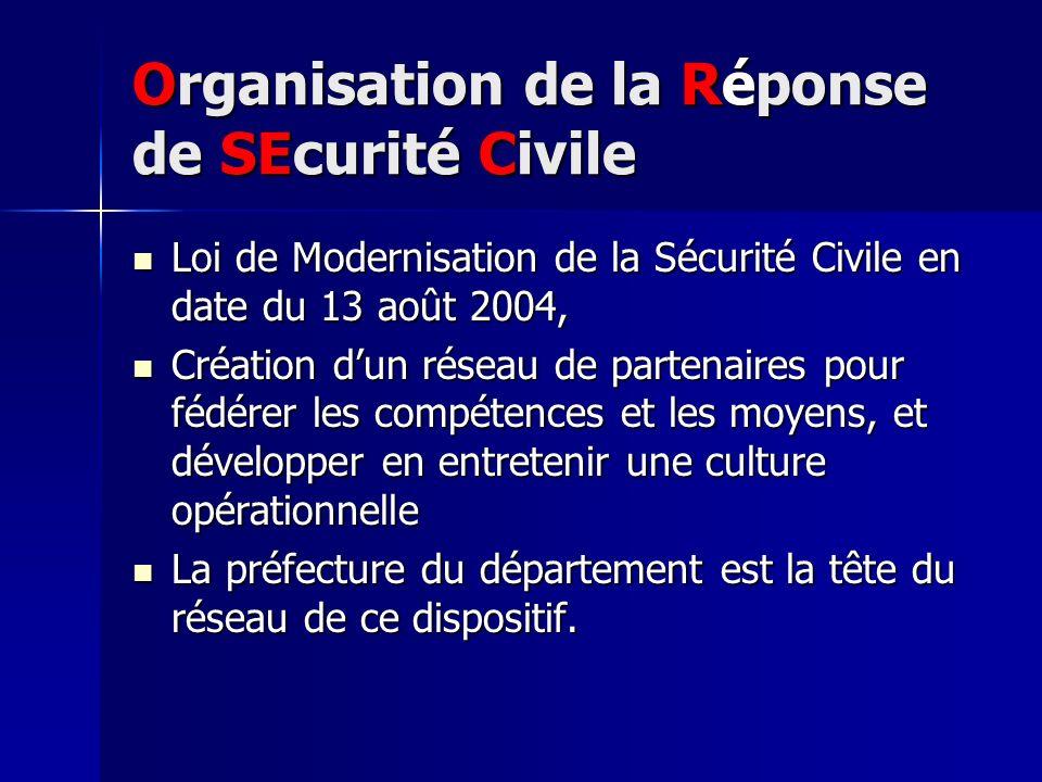 Organisation de la Réponse de SEcurité Civile