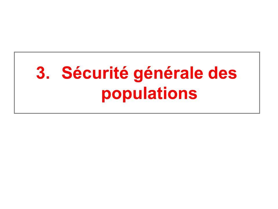 Sécurité générale des populations