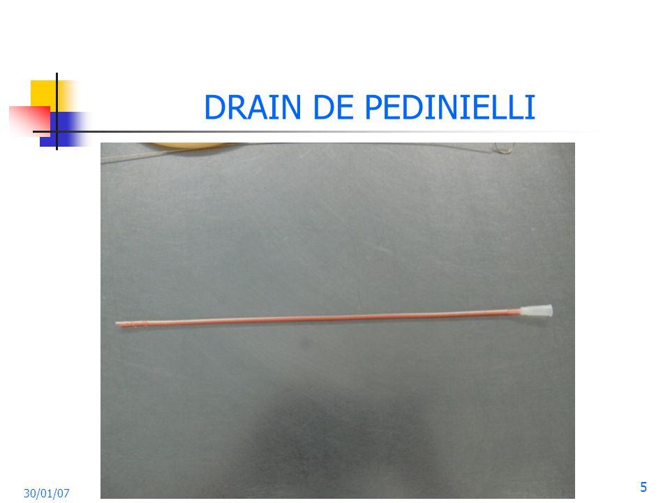DRAIN DE PEDINIELLI 30/01/07