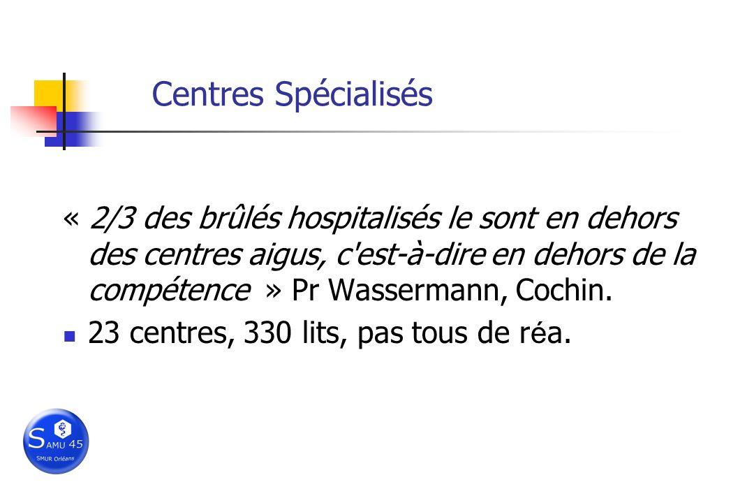 Centres Spécialisés