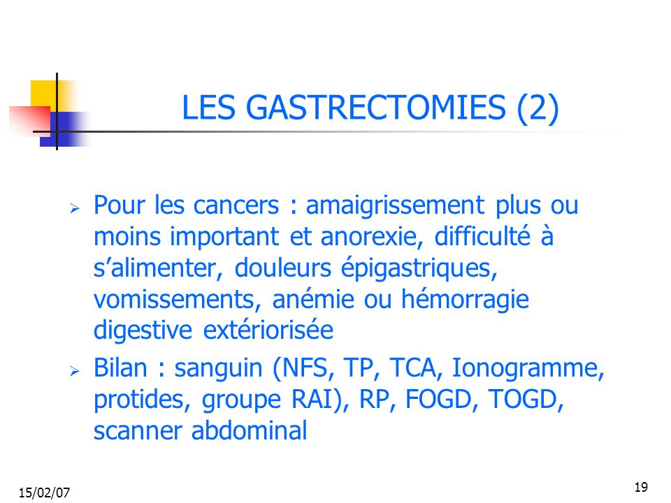 LES GASTRECTOMIES (2)