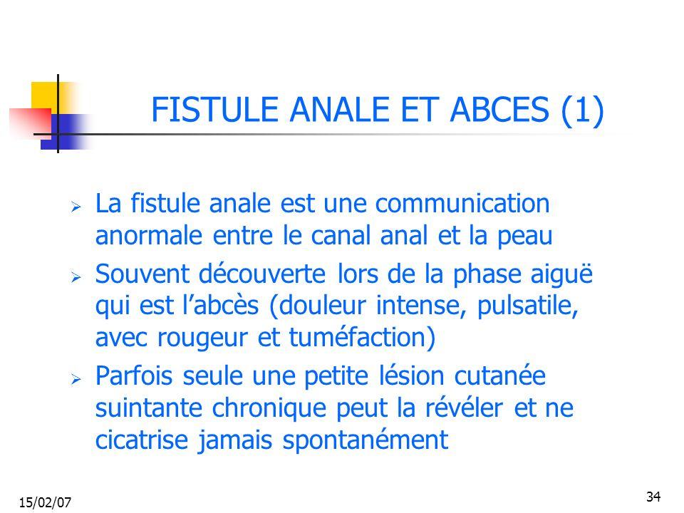 FISTULE ANALE ET ABCES (1)