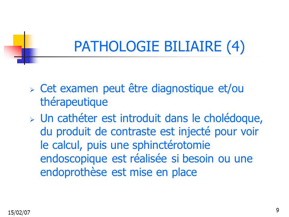 PATHOLOGIE BILIAIRE (4)