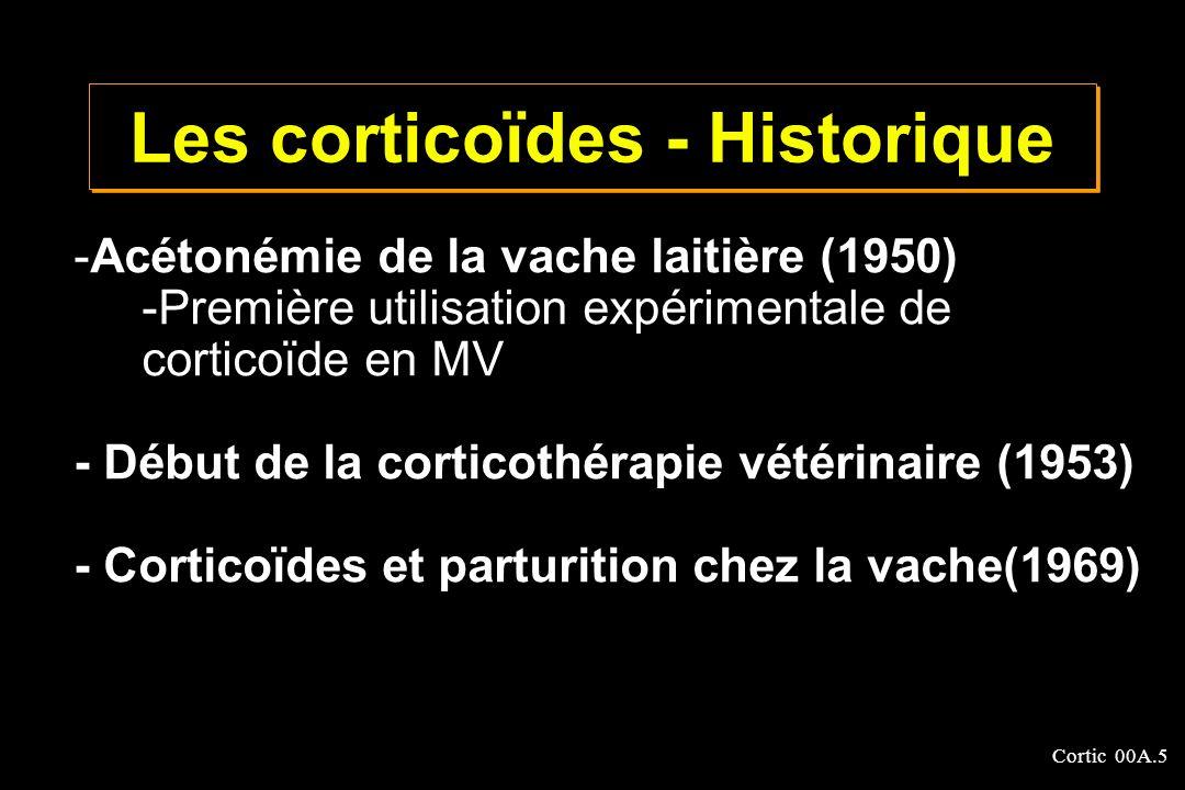 Les corticoïdes - Historique