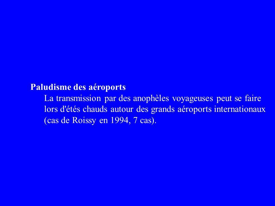 Paludisme des aéroports