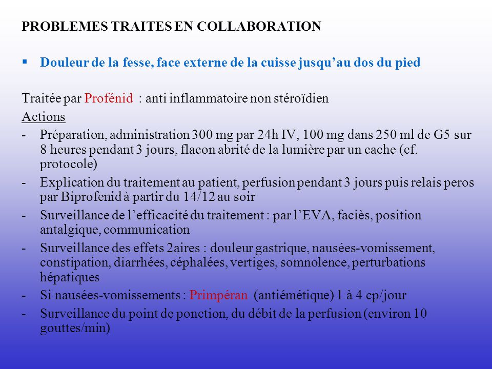 PROBLEMES TRAITES EN COLLABORATION