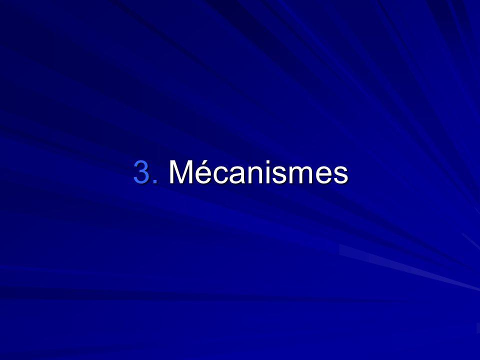 3. Mécanismes