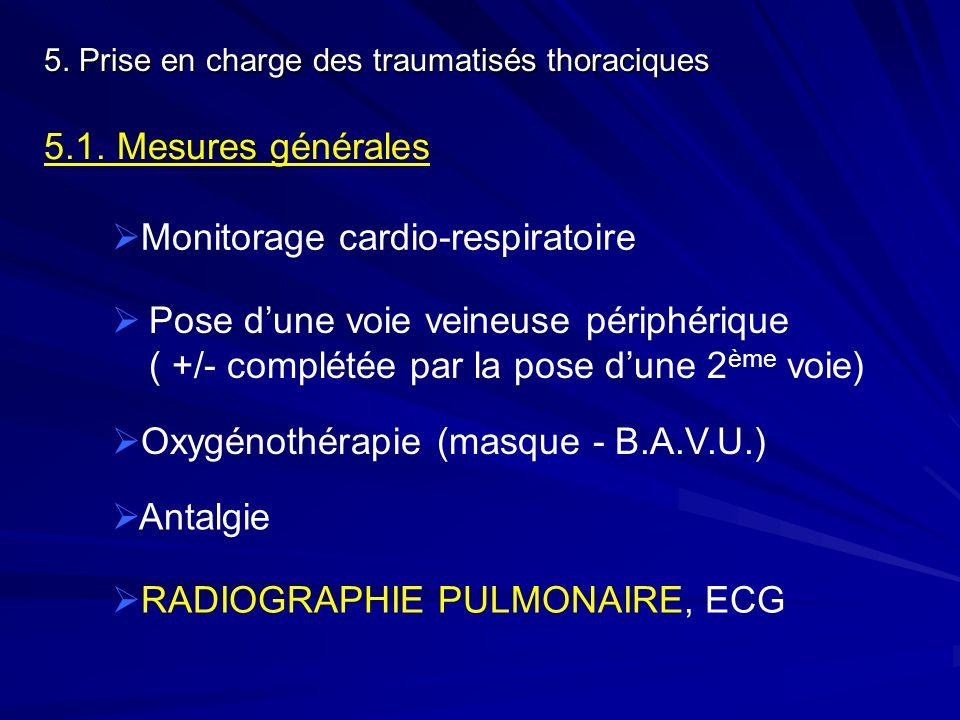 Monitorage cardio-respiratoire