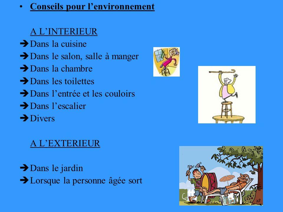 Conseils pour l'environnement