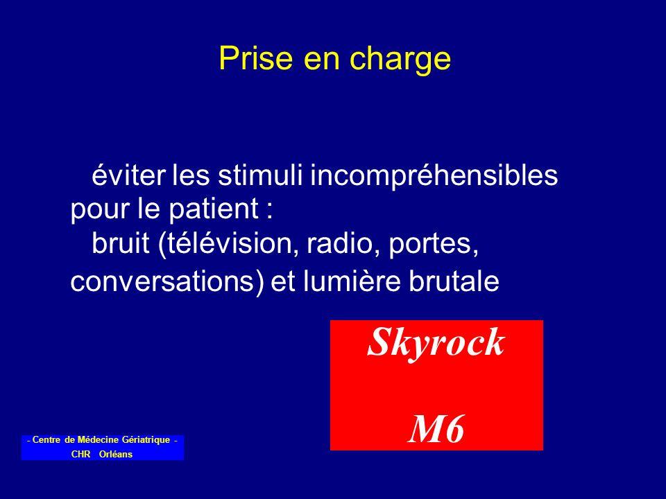 Skyrock M6 Prise en charge