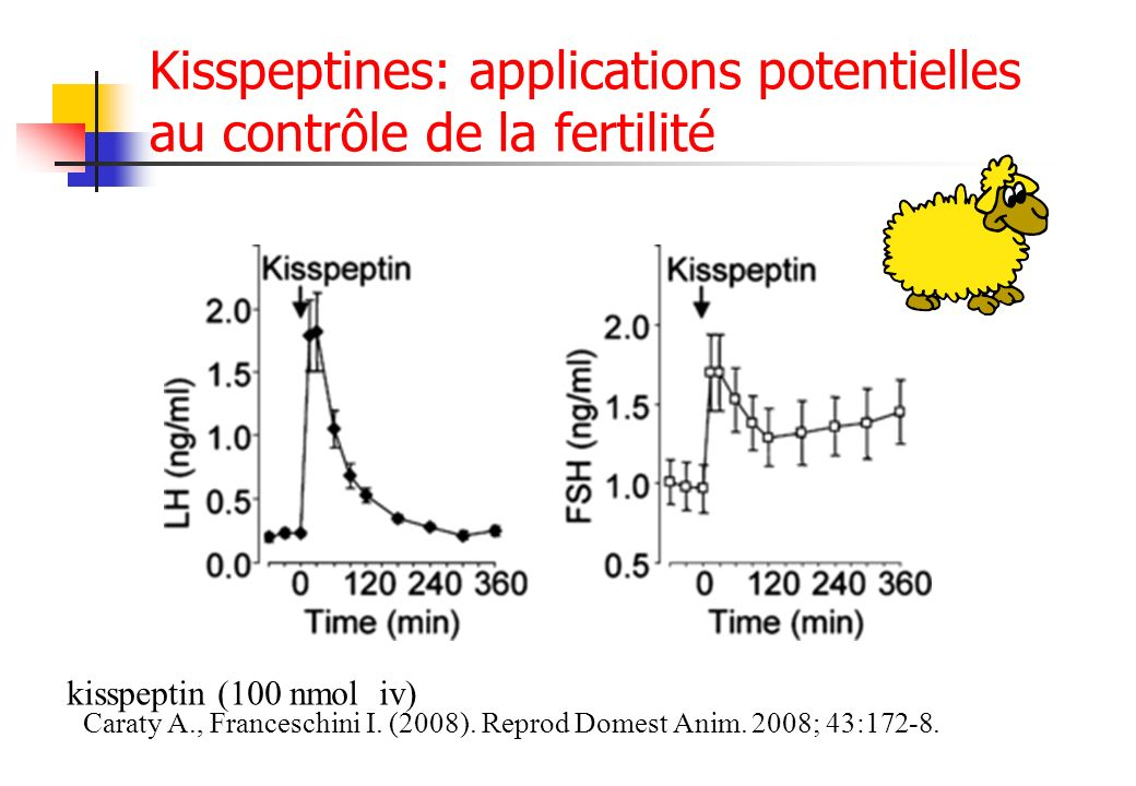 Kisspeptines: applications potentielles au contrôle de la fertilité