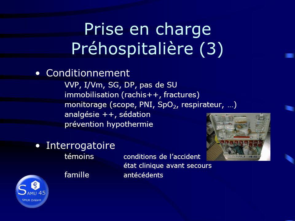 Prise en charge Préhospitalière (3)
