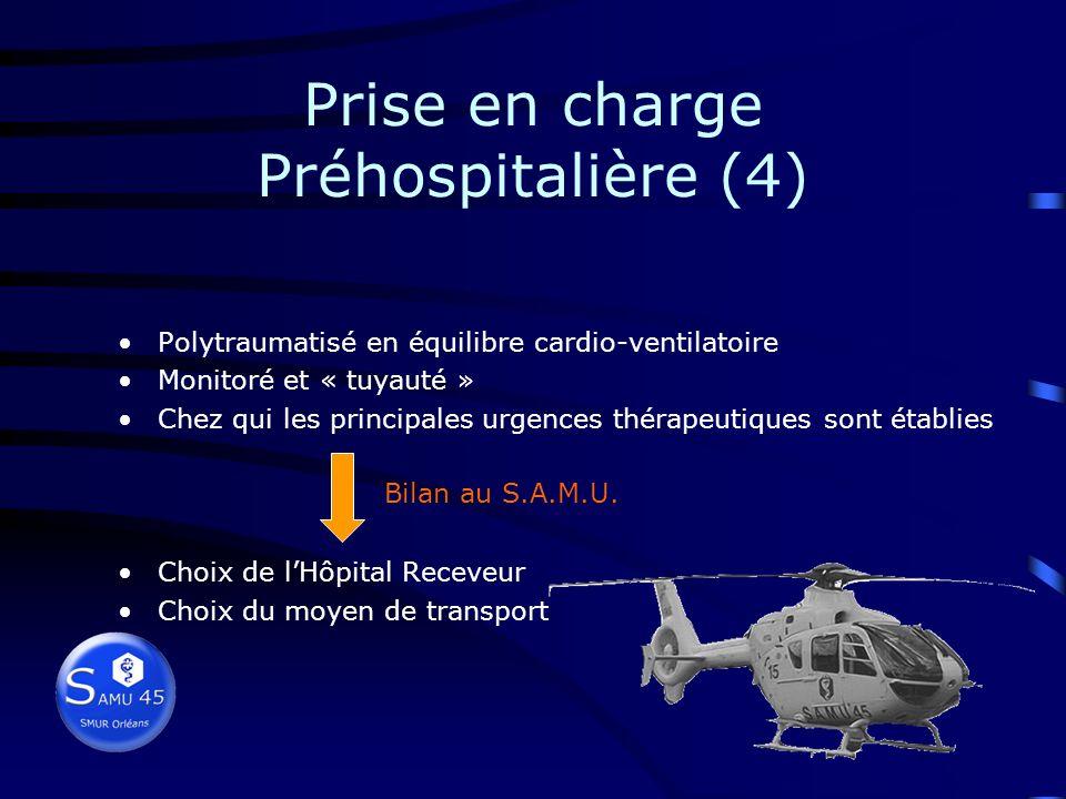 Prise en charge Préhospitalière (4)
