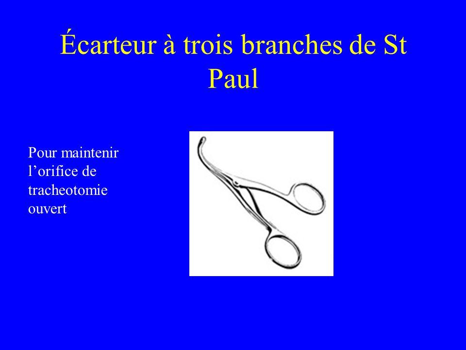 Écarteur à trois branches de St Paul