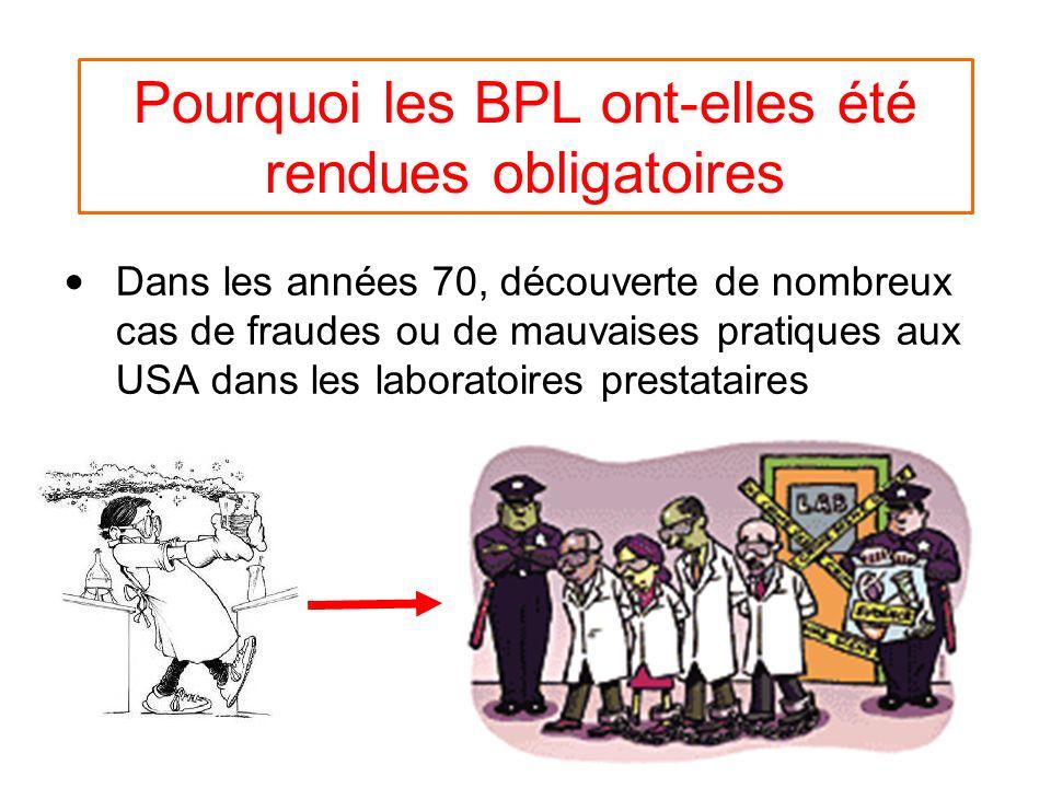 Pourquoi les BPL ont-elles été rendues obligatoires