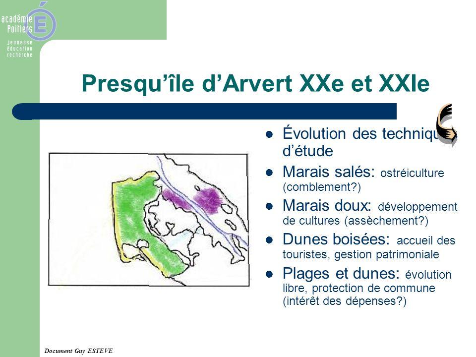 Presqu'île d'Arvert XXe et XXIe