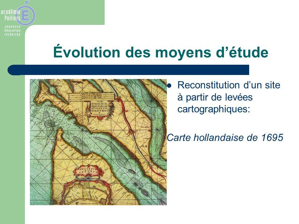 Évolution des moyens d'étude