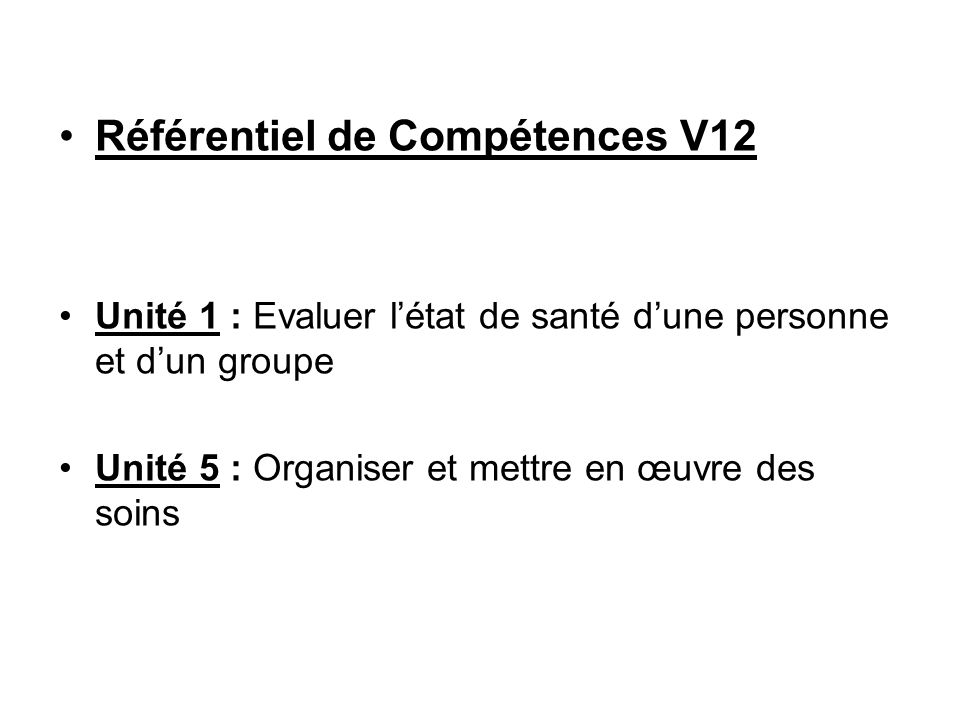 Référentiel de Compétences V12