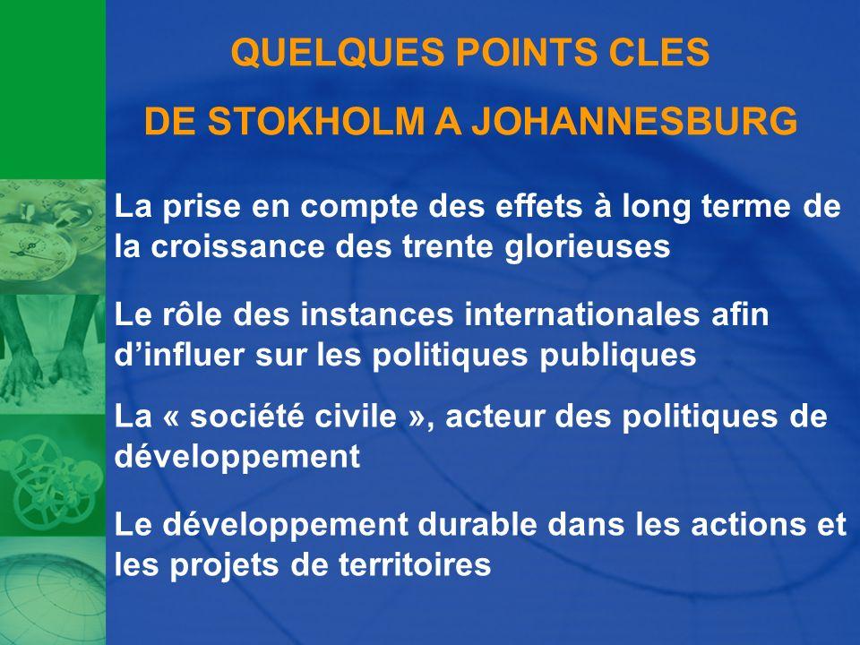 DE STOKHOLM A JOHANNESBURG