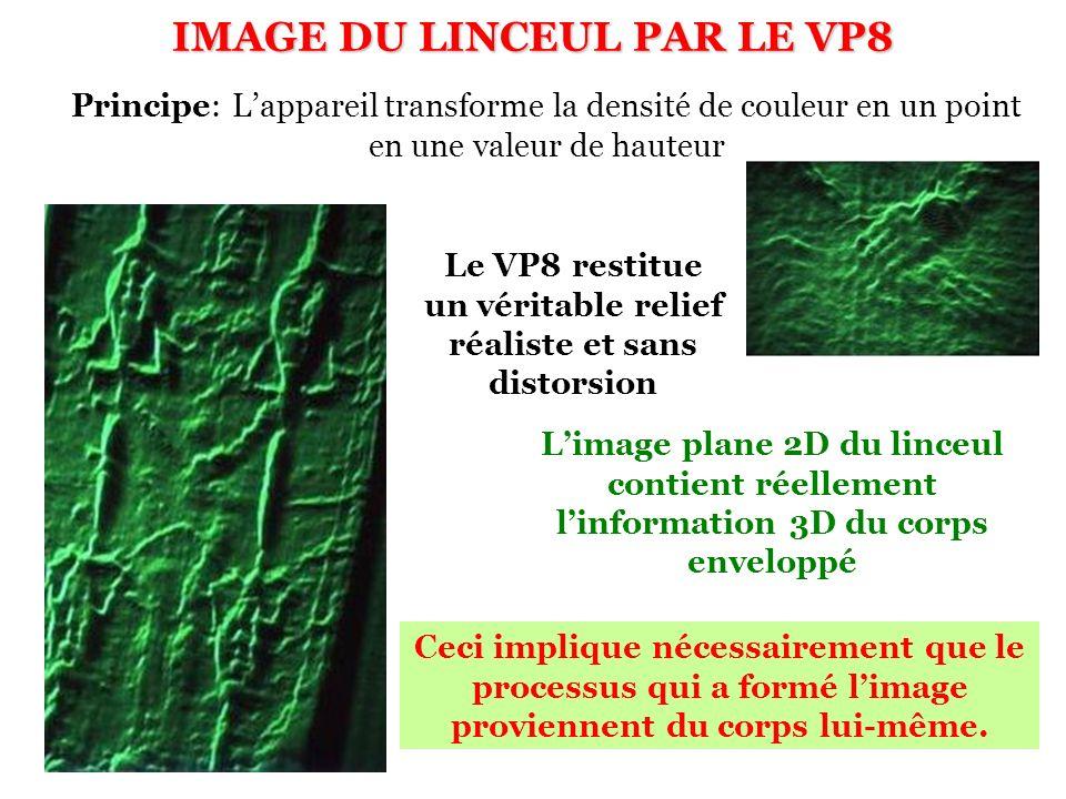 IMAGE DU LINCEUL PAR LE VP8