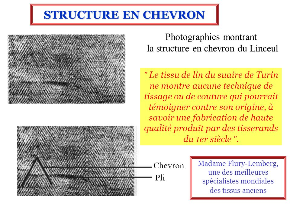 STRUCTURE EN CHEVRON Photographies montrant