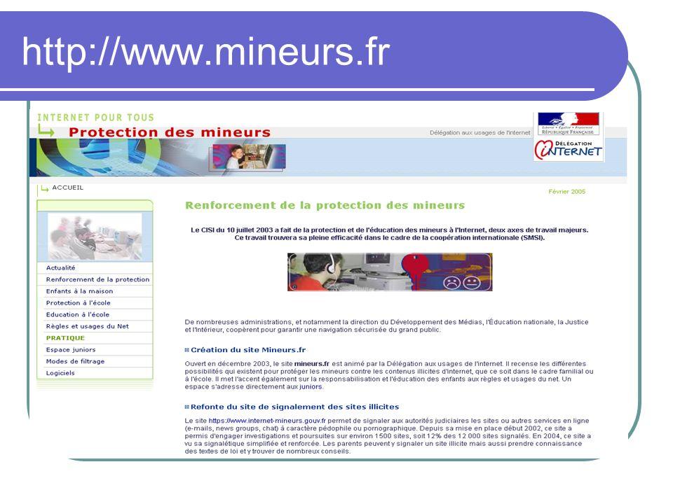 http://www.mineurs.fr