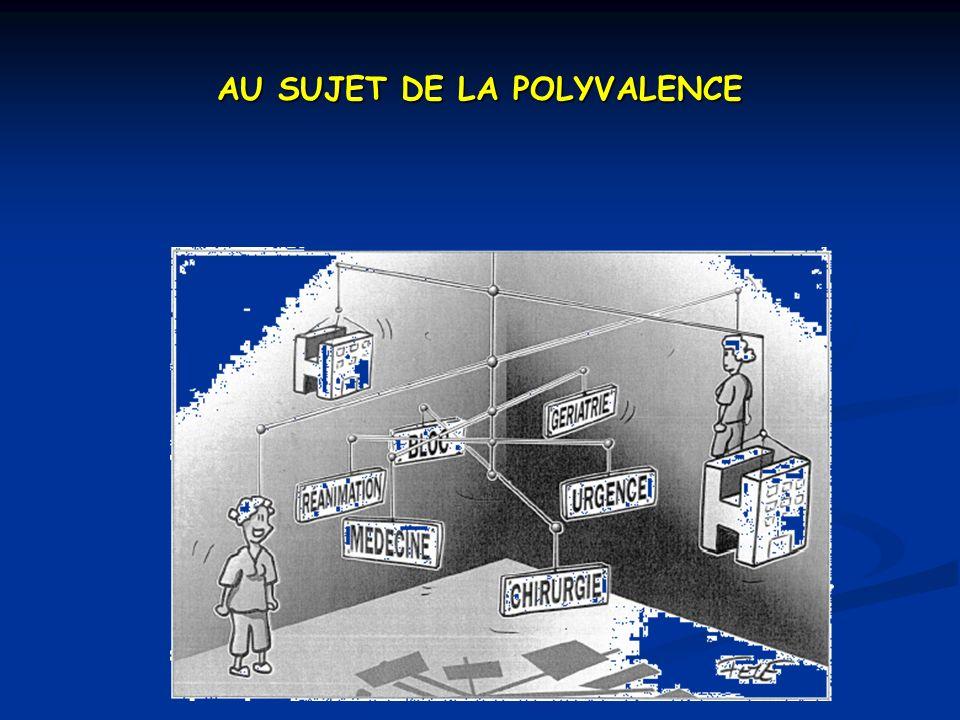 AU SUJET DE LA POLYVALENCE