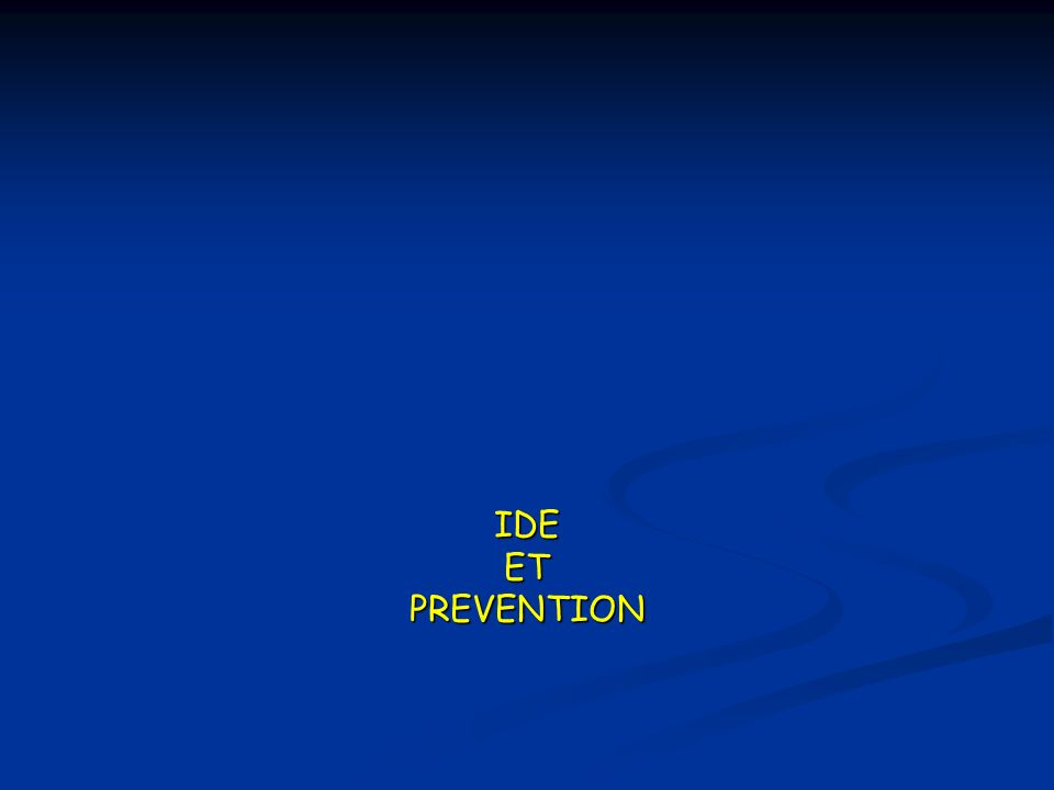 IDE ET PREVENTION