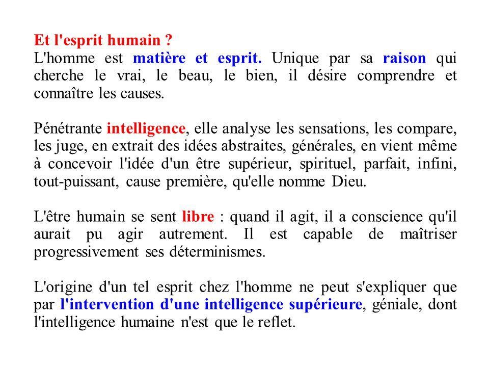 Et l esprit humain