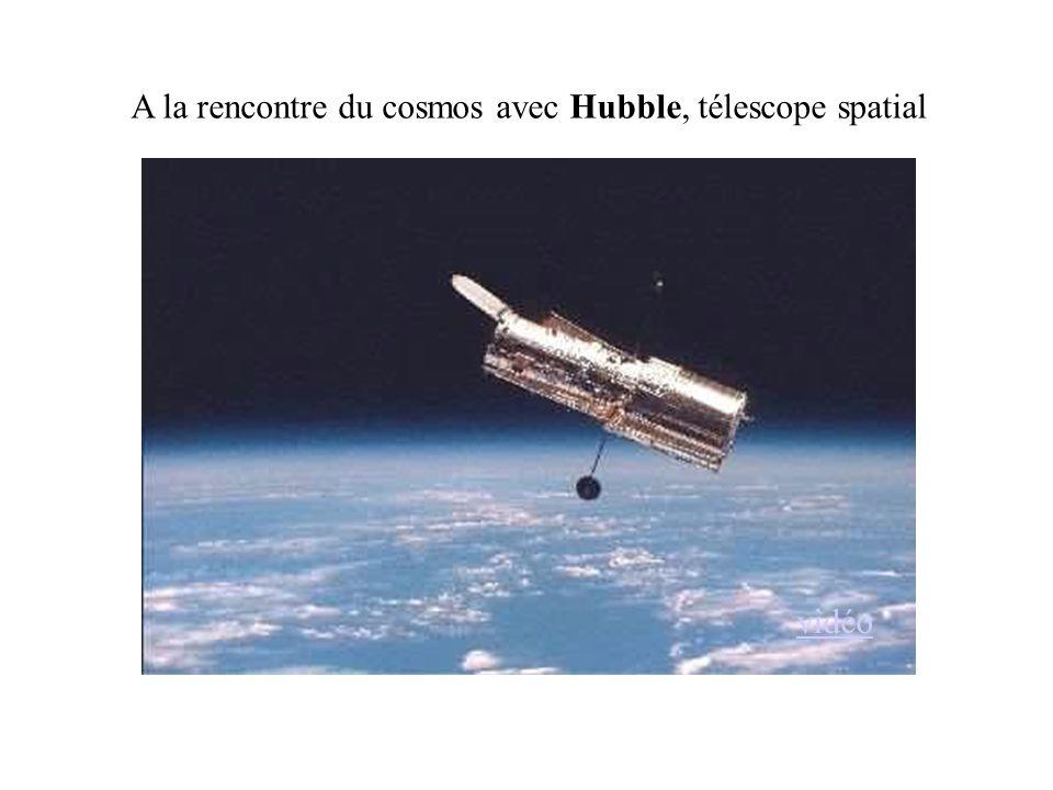 A la rencontre du cosmos avec Hubble, télescope spatial