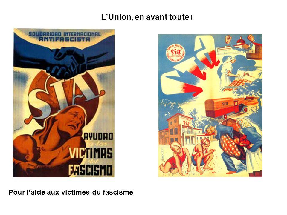 L'Union, en avant toute ! Pour l'aide aux victimes du fascisme