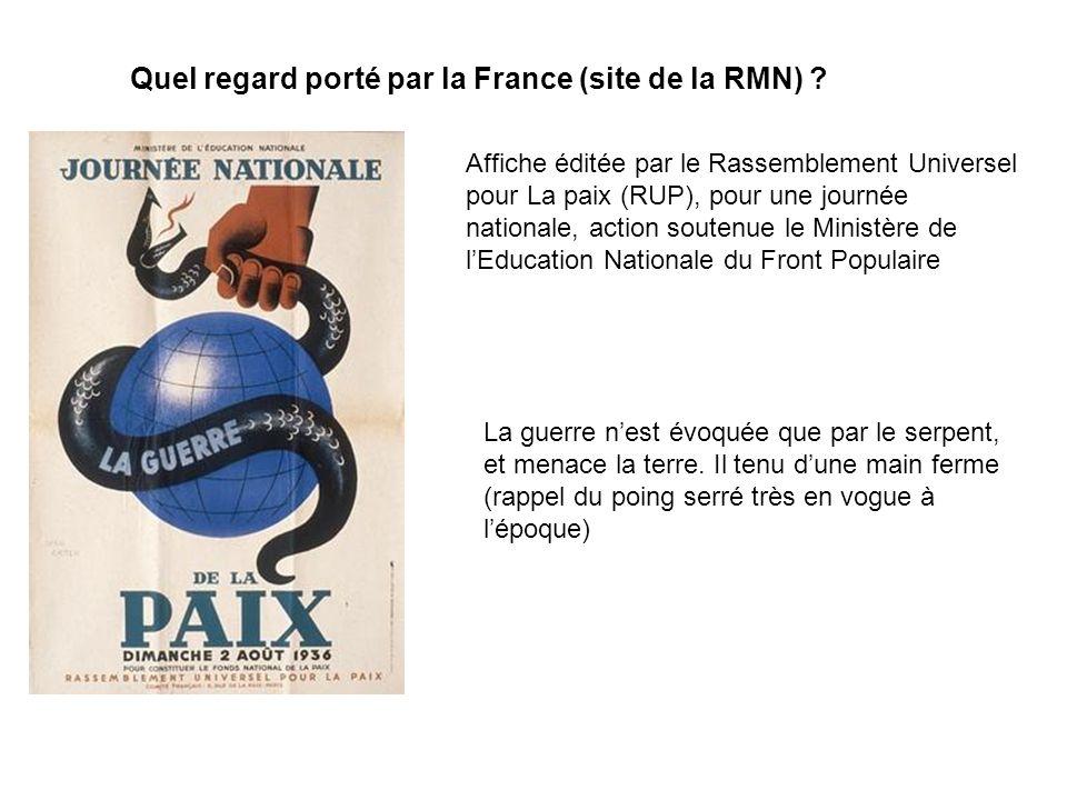 Quel regard porté par la France (site de la RMN)