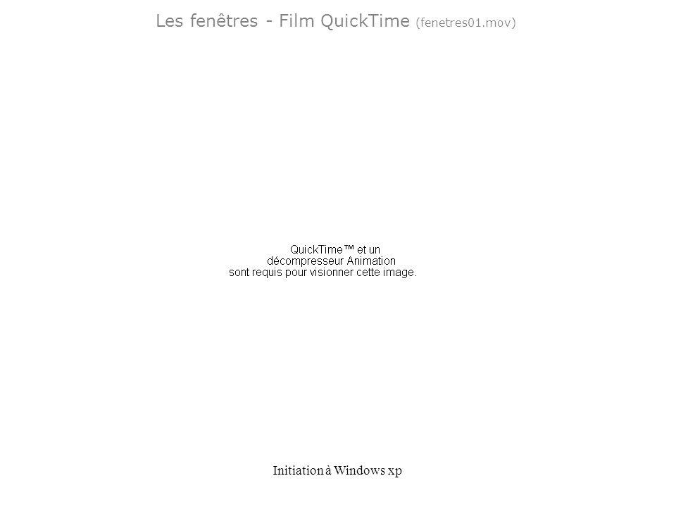 Les fenêtres - Film QuickTime (fenetres01.mov)