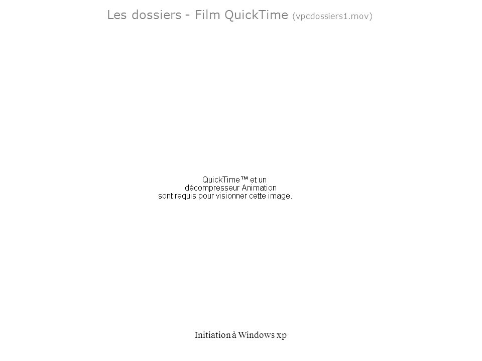 Les dossiers - Film QuickTime (vpcdossiers1.mov)