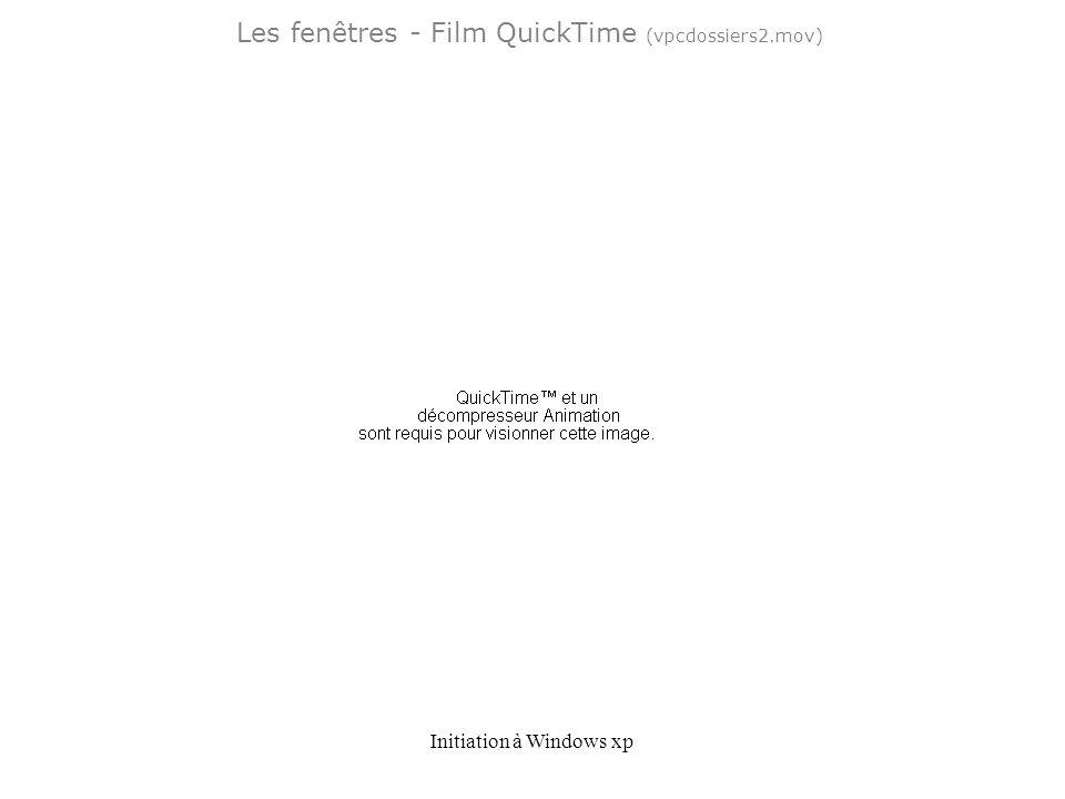 Les fenêtres - Film QuickTime (vpcdossiers2.mov)