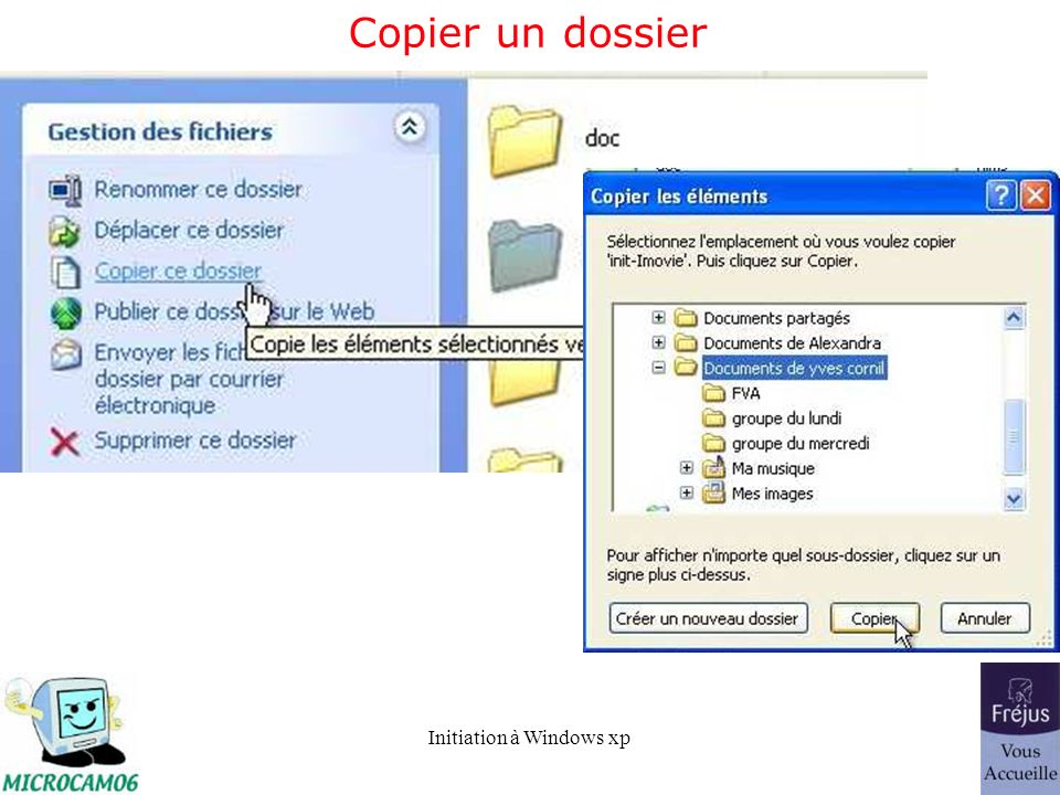 Copier un dossier